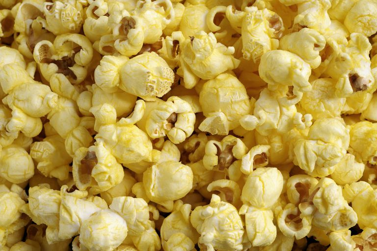 Popcorn up close