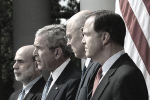 Bernanke, Bush, Paulson didn't avoid the financial crisis