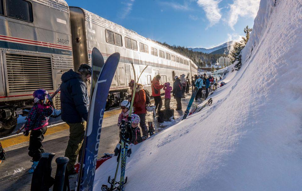 The Amtrak Ski Train
