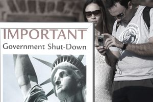 statue of liberty closed
