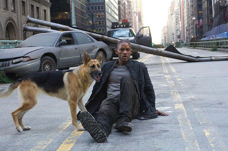 Will Smith battles mutants as the last man on Earth in 'I Am Legend'.