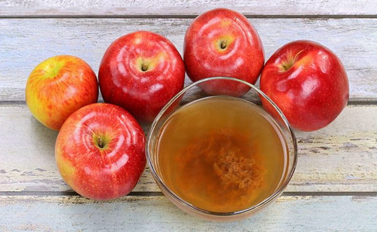 Vinagre de sidra de manzanas