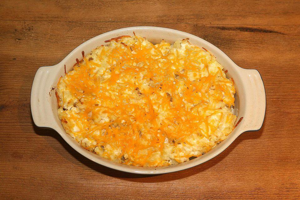 Potatoes romanoff