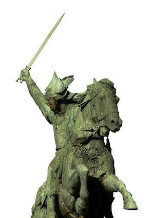 Statue of Vercingetorix by Bartholdi