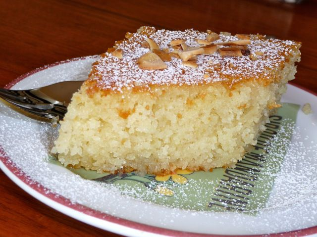 Greek Orange Semolina Cake