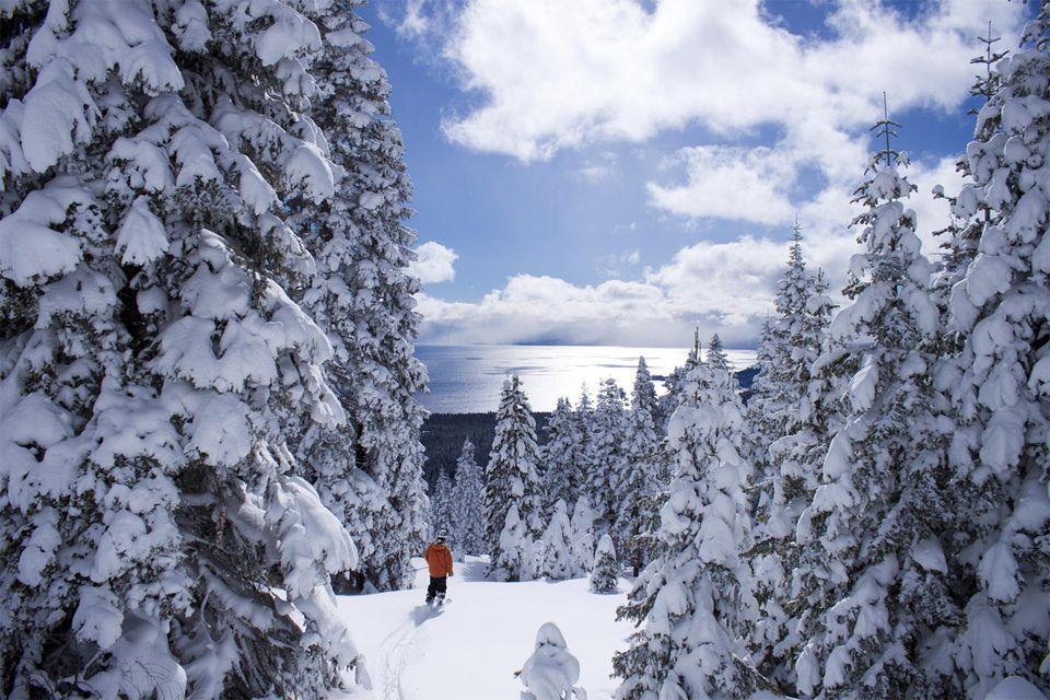 Lake Tahoe from from Tahoe Ski Resort