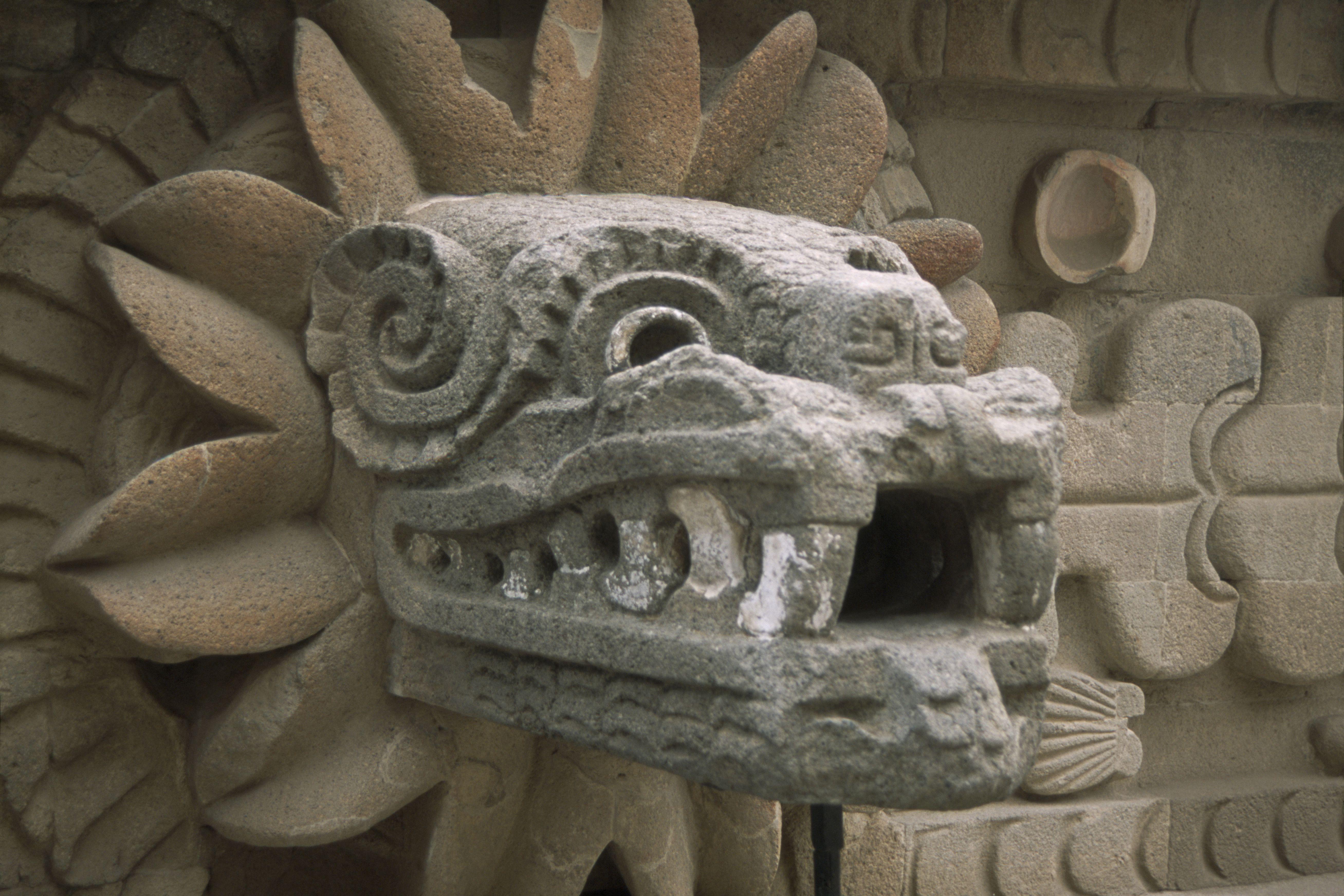 Quetzalcoatl - Pan-Mesoamerican Feathered Serpent God