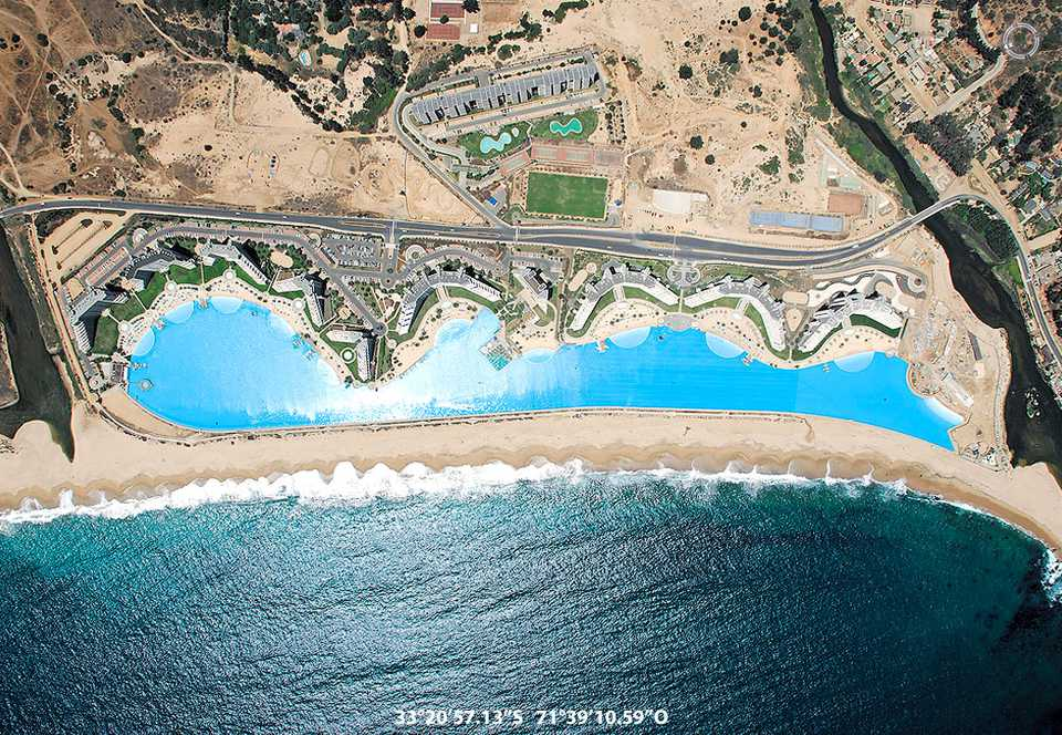 pool in chile largest pool