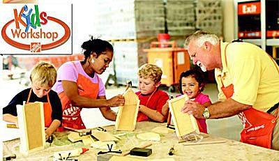 Home Depot Kids Workshop Free Kids Building Classes