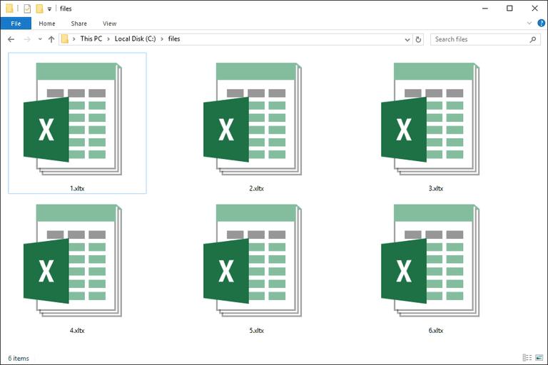 XLTX Files