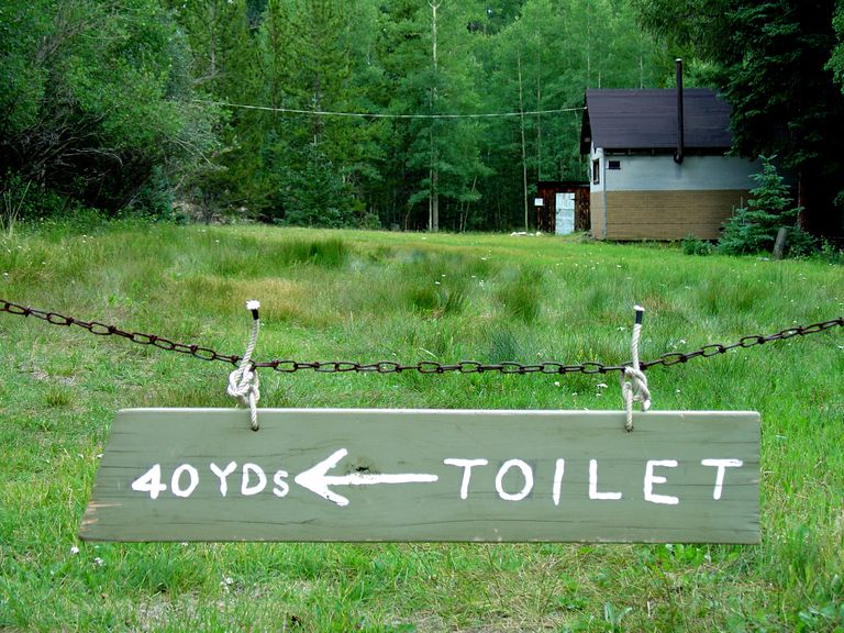 Finding A Toilet