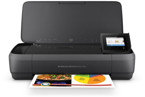 HP OfficeJet 250 All-in-One Portable Printer with Wireless & Mobile Printing