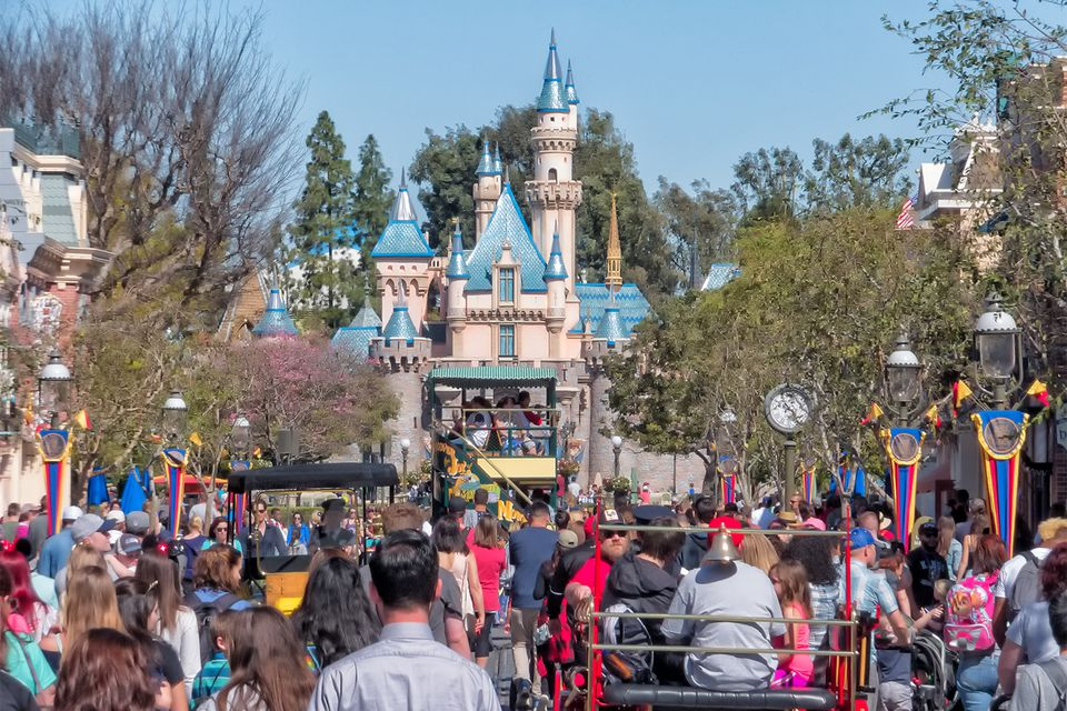 Crowded Day at Disneyland