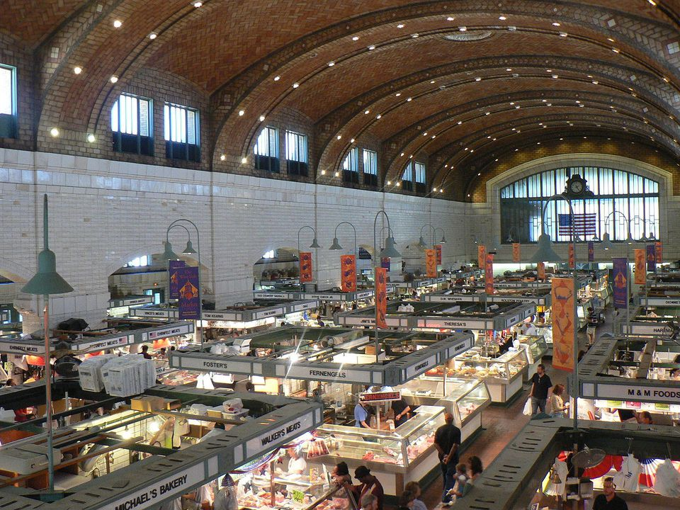 The Westside Market in Cleveland, Ohio.