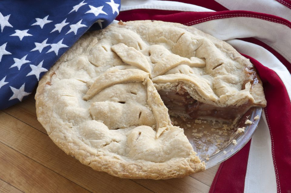 July 4 apple pie