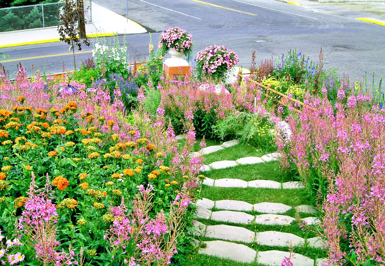 13 Hillside Landscaping Ideas to Maximize Your Yard on Steep Sloping Garden Ideas id=25463