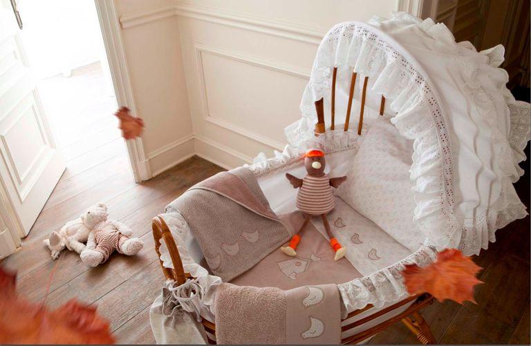 Moisés de bebés: primeras camas