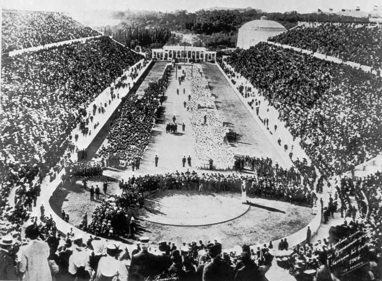 a history of the olympic games in ancient greece and modern times The ancient olympic games only allowed people of greek descent to participate the salt lake city olympics featured 2600 athletes from 77 countries only a few hundred athletes participated in the.