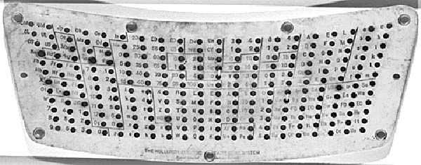 Herman Hollerith - Punch Cards