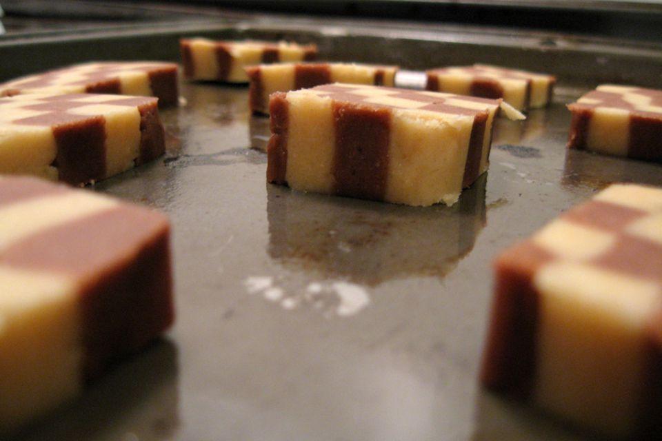 german checkboard cookies