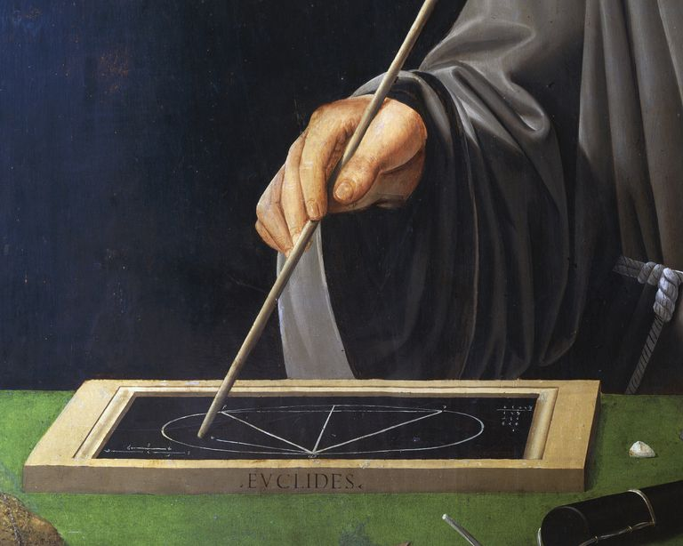 Euclid of Alexandria is considered to be the Father of Geometry.