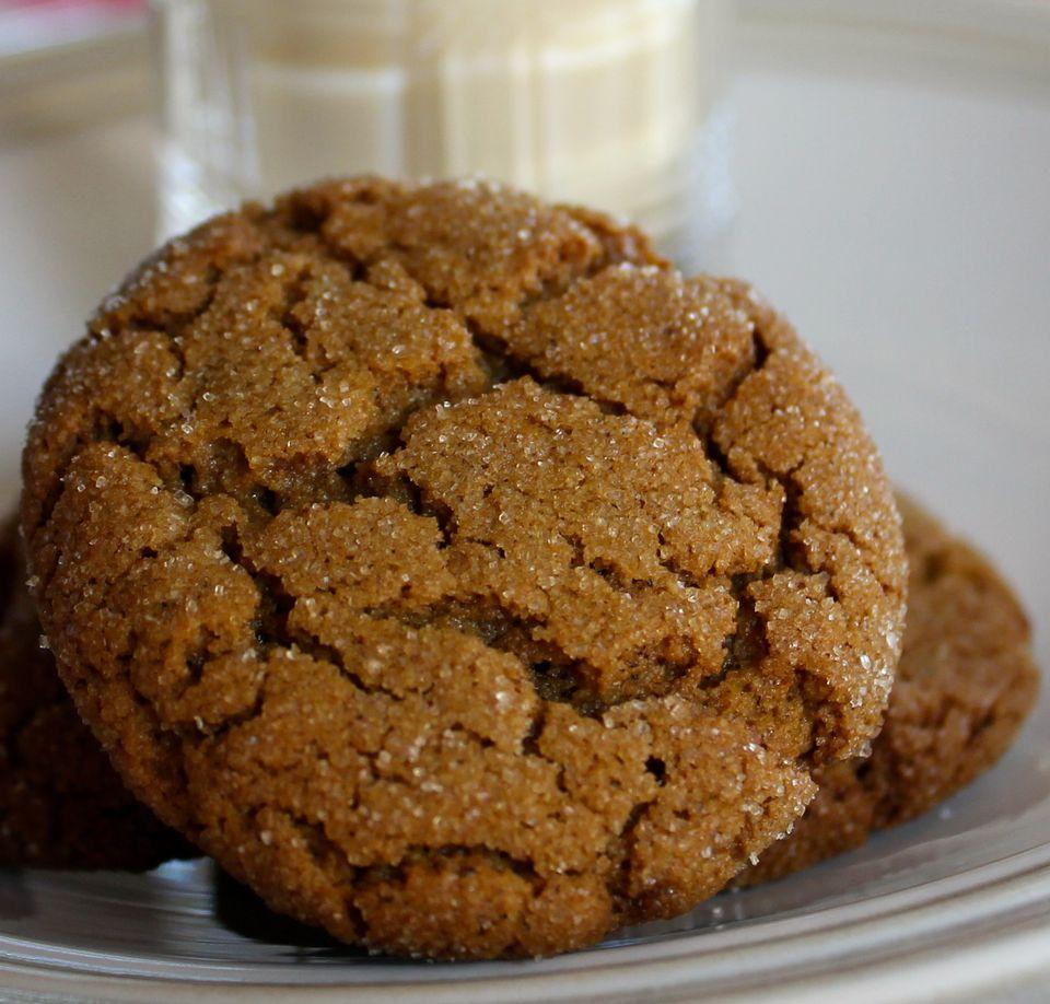 Gluten-Free Gingersnap Cookie Recipe Image 2014 © Teri Gruss