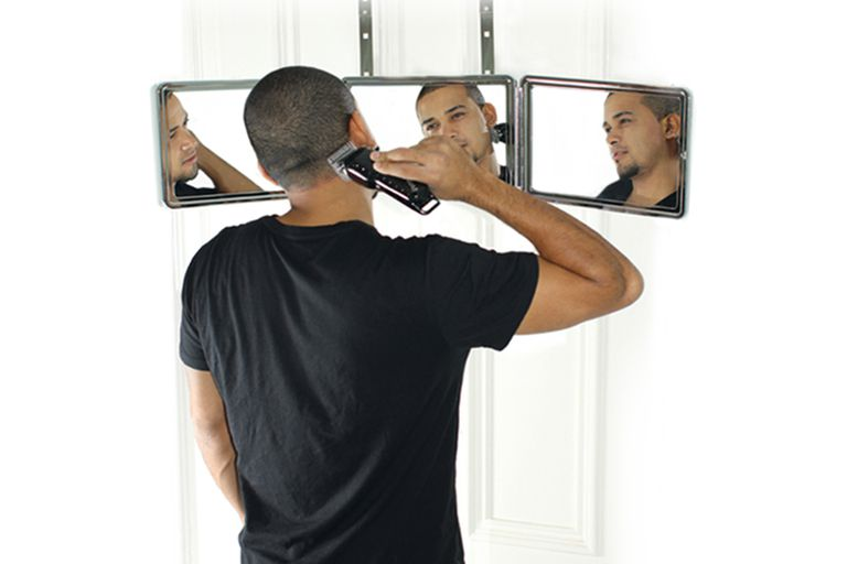 Self-Cut System Home Haircutting Mirror