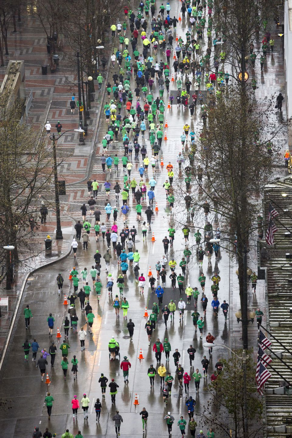 St Patrick's Day Fun Run Seattle Washington