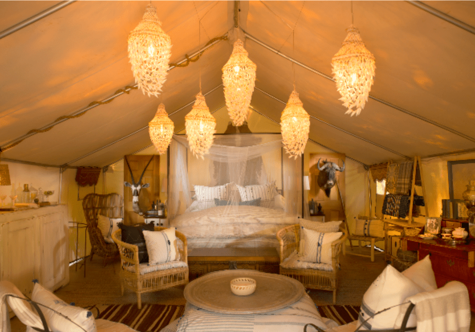Glamping in Kennebunkport Maine