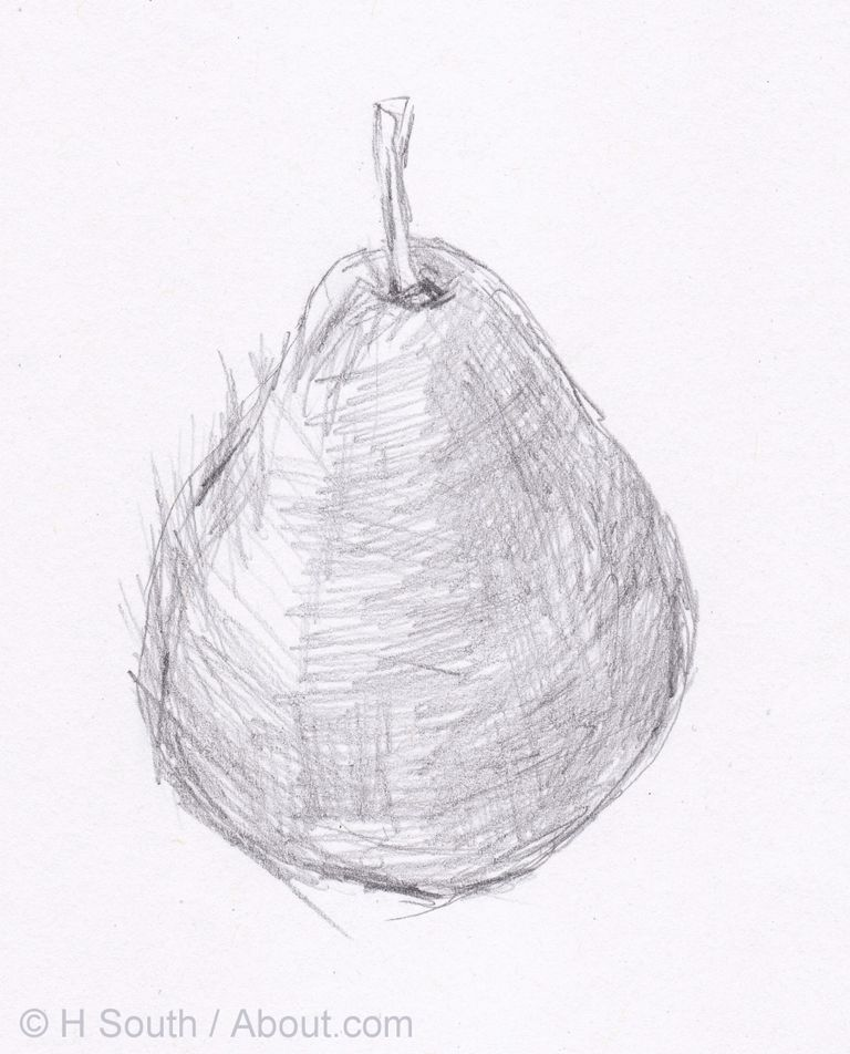 Line Drawing No Shading : An easy drawing lesson for beginners