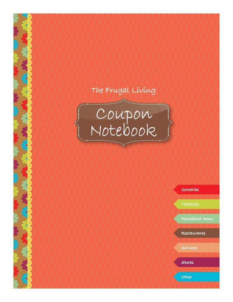 creating a coupon book