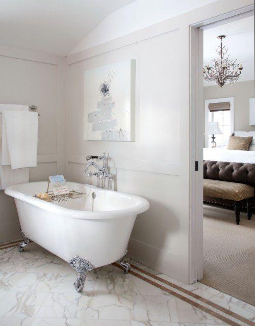 modern bathroom with clawfoot tub. modern bathroom clawfoot tub 10 Beautiful Bathrooms With Clawfoot Tubs