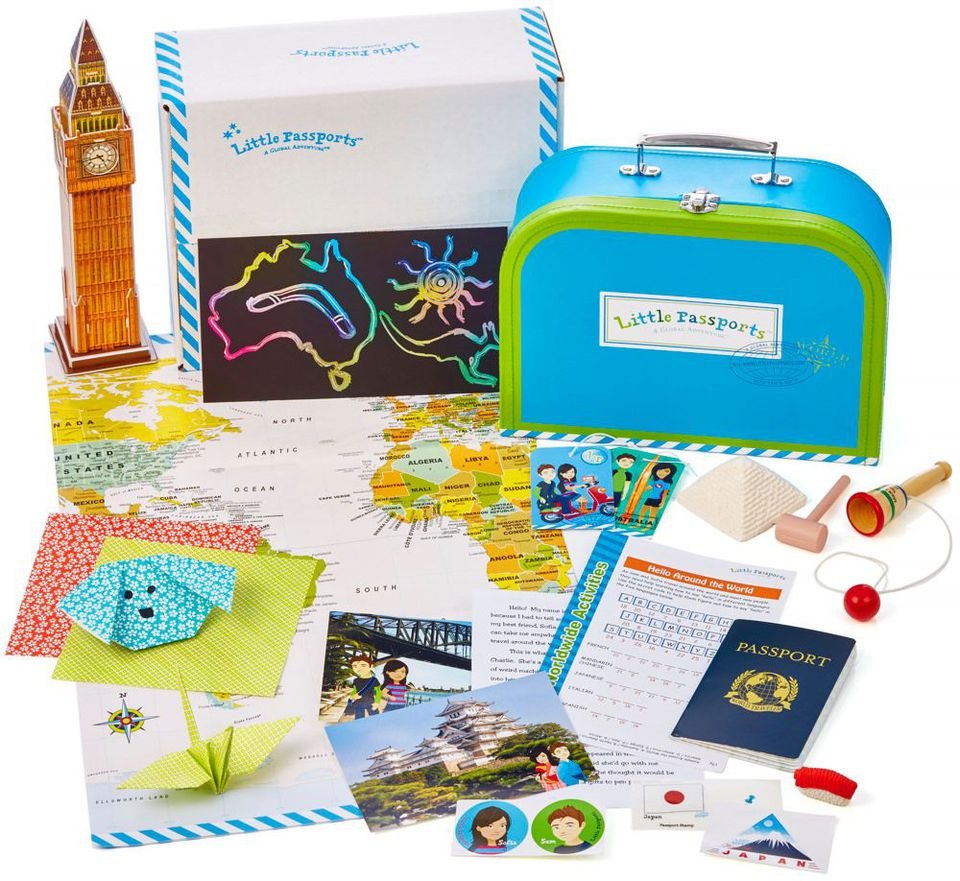 3 great monthly activity and craft subscription boxes for kids for Kid craft subscription box