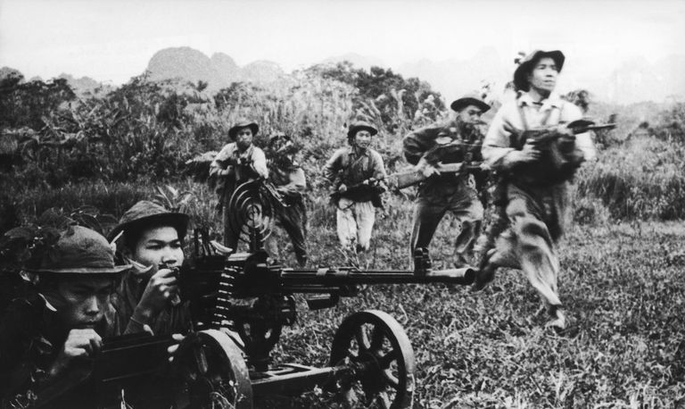 Viet Cong advance in 1968