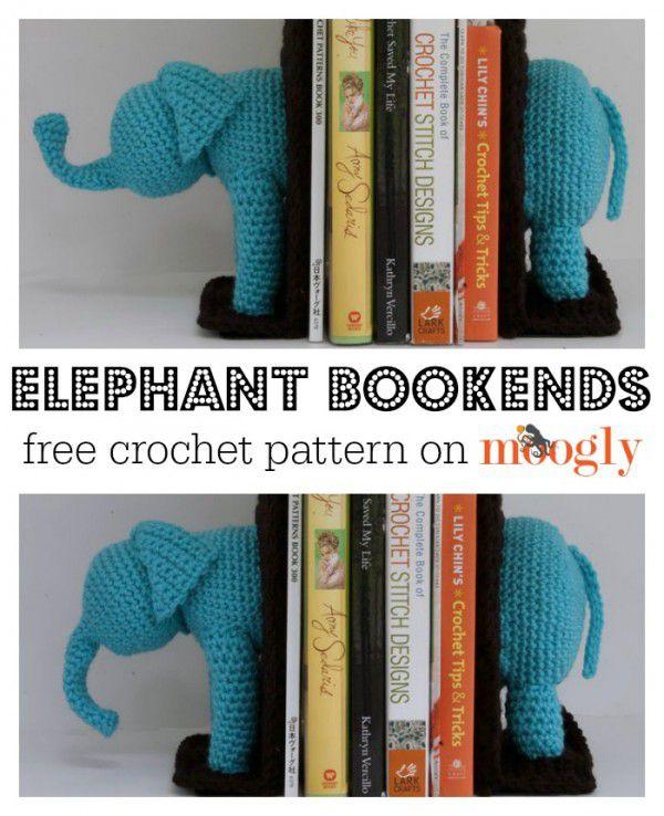 11 Free Crochet Elephant Patterns