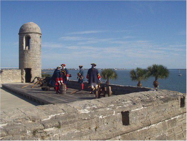 Fort Matanzas Reinactment