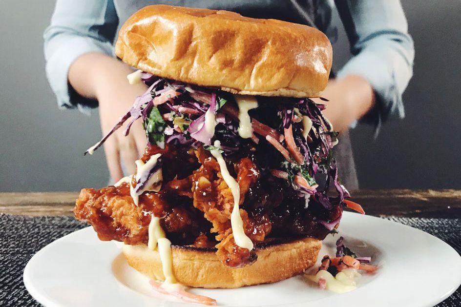general tso chicken sandwich
