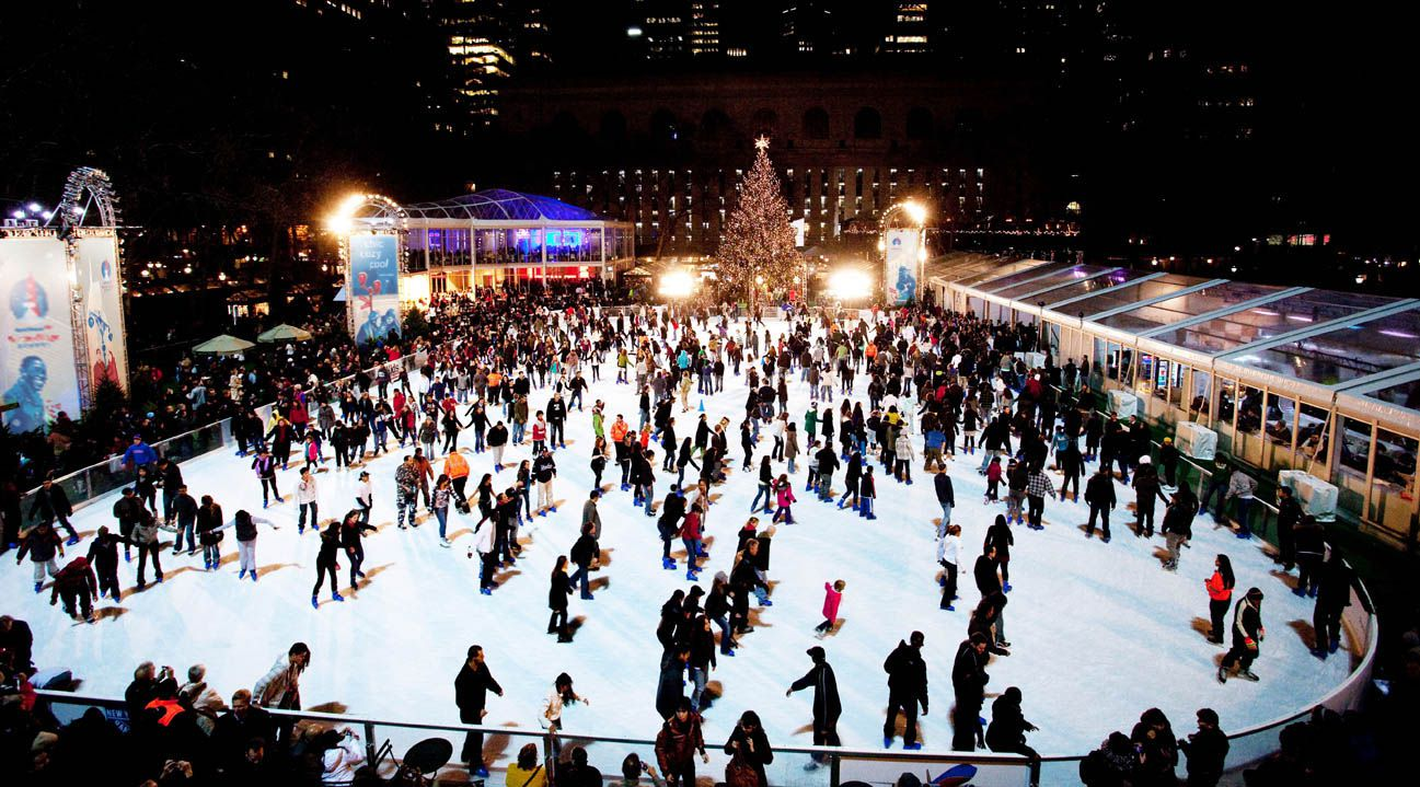 6 best ice skating rinks in nyc