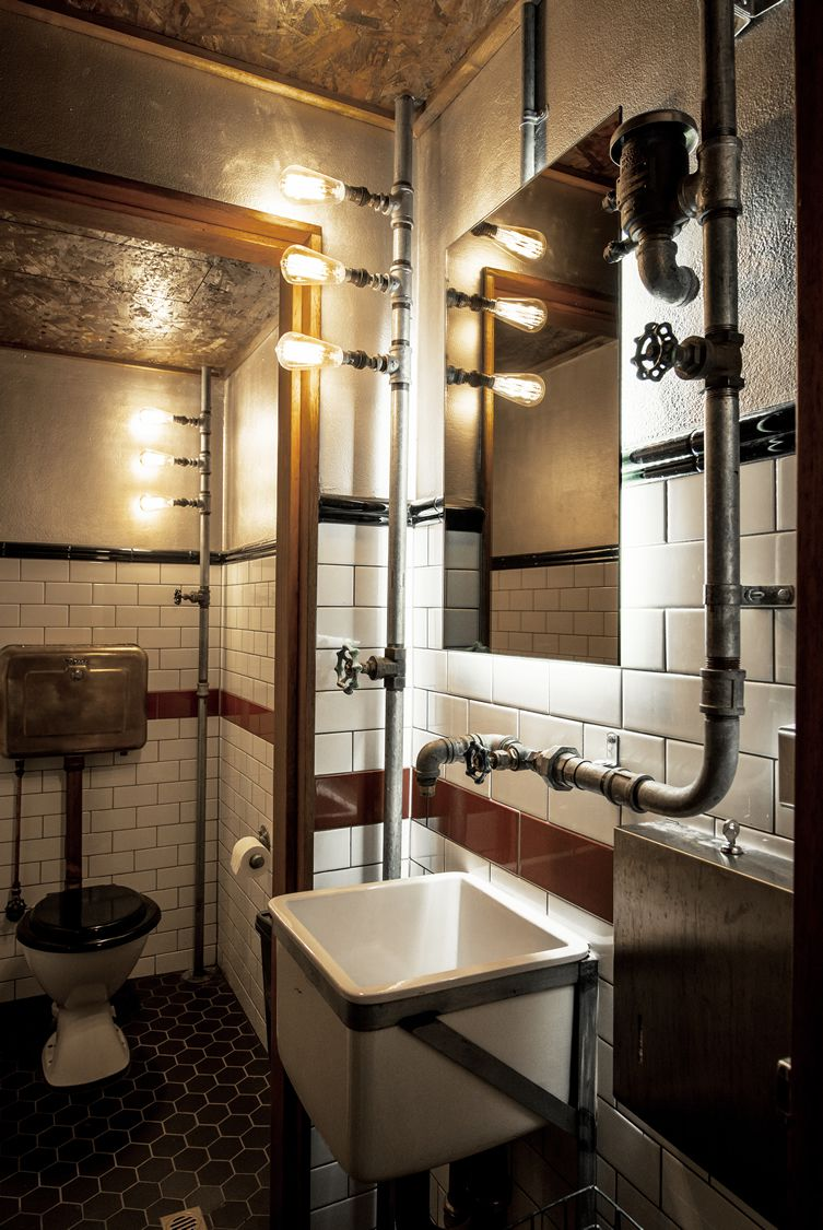 Industrial bathroom inspiration for Toilet inspiration