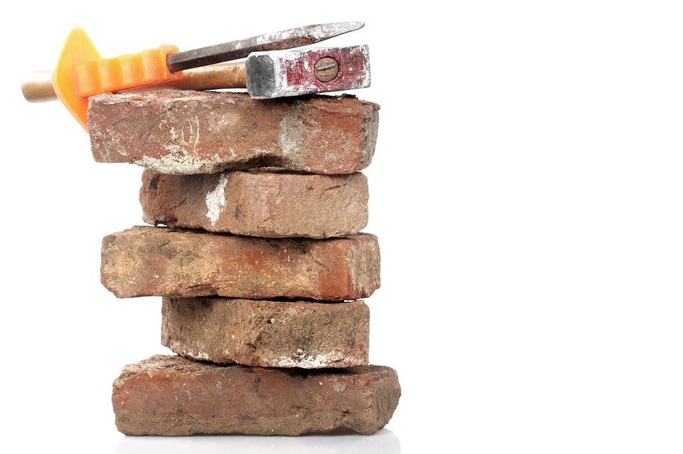 Red Brick, Hammer and Chisel