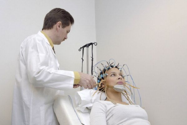 EEG Examination Of A Woman
