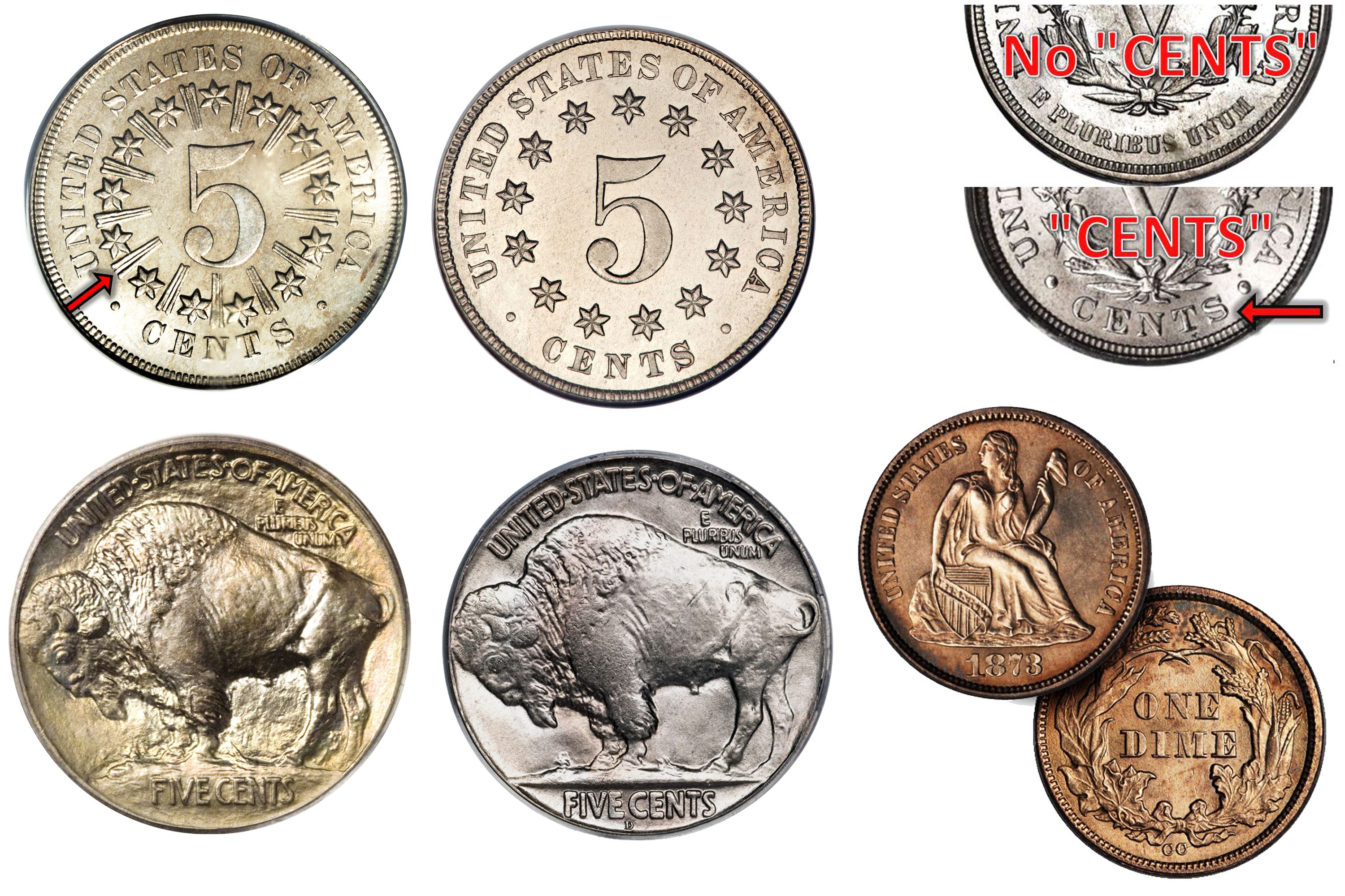 types of us coins