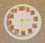 Clock Math Craft