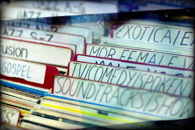 Organizing digital music