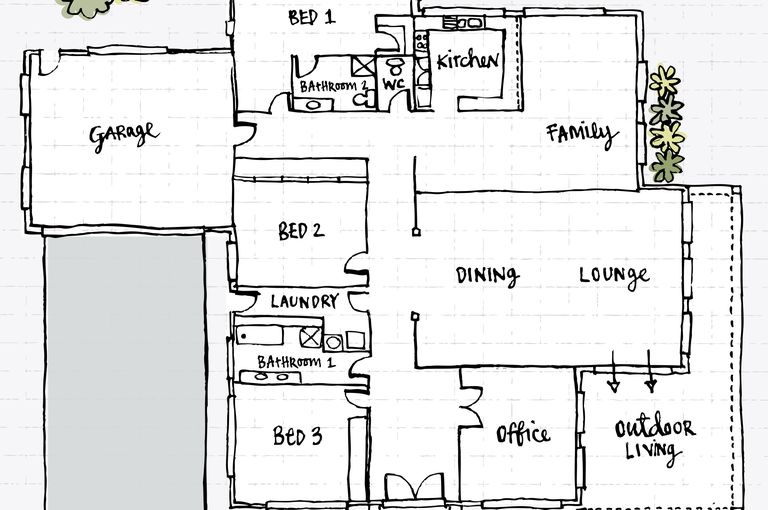 What is a floor plan and can you build a house with it I want to design my own home online