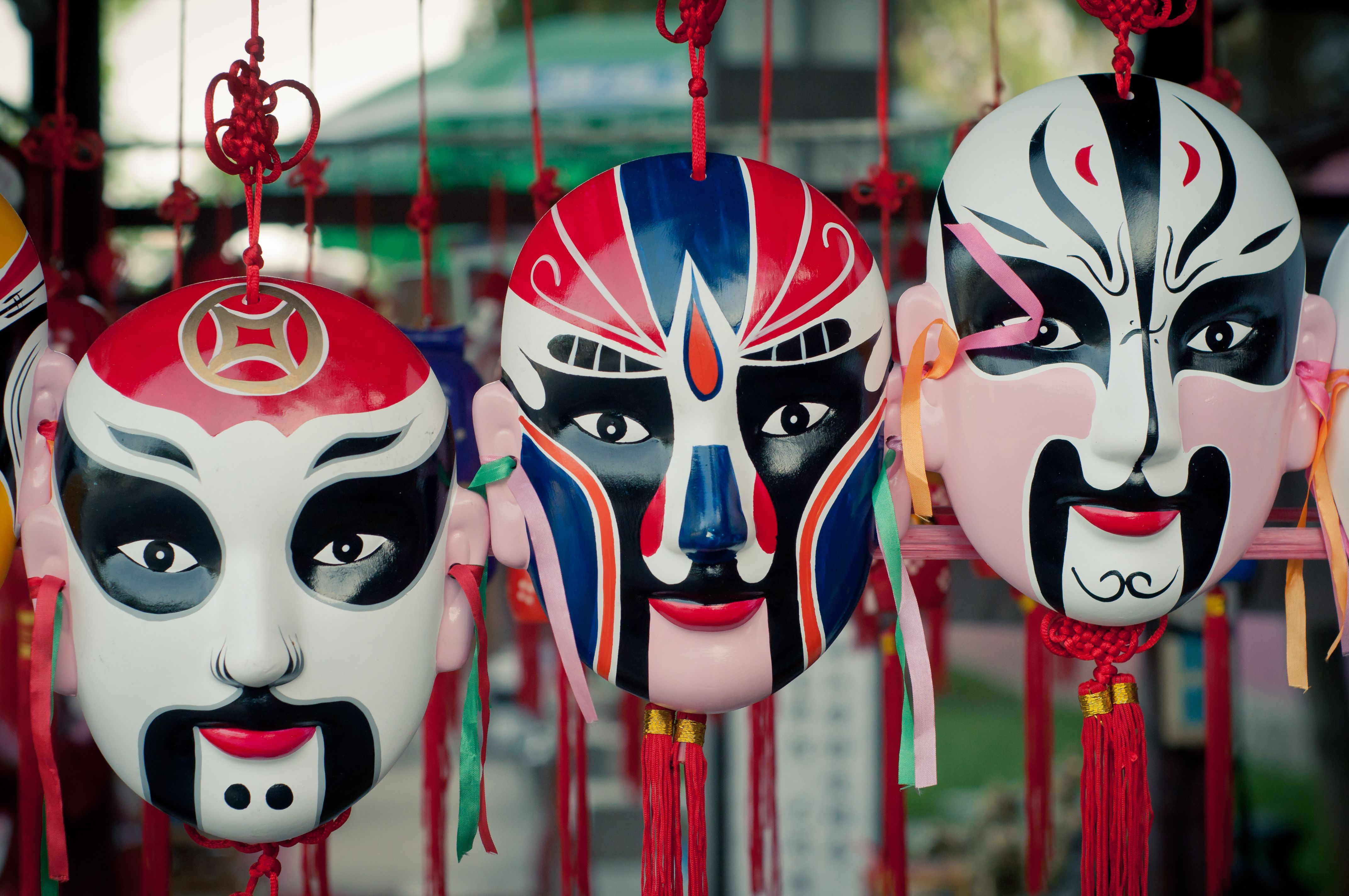 Chinese Masks And Their Use In Home Feng Shui