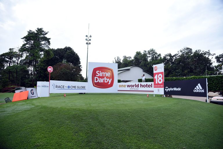 The 8th tee box during day four of the 2016 Sime Darby LPGA tournament.