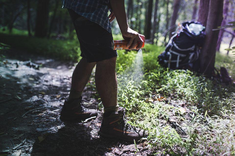 Hiker bug spray