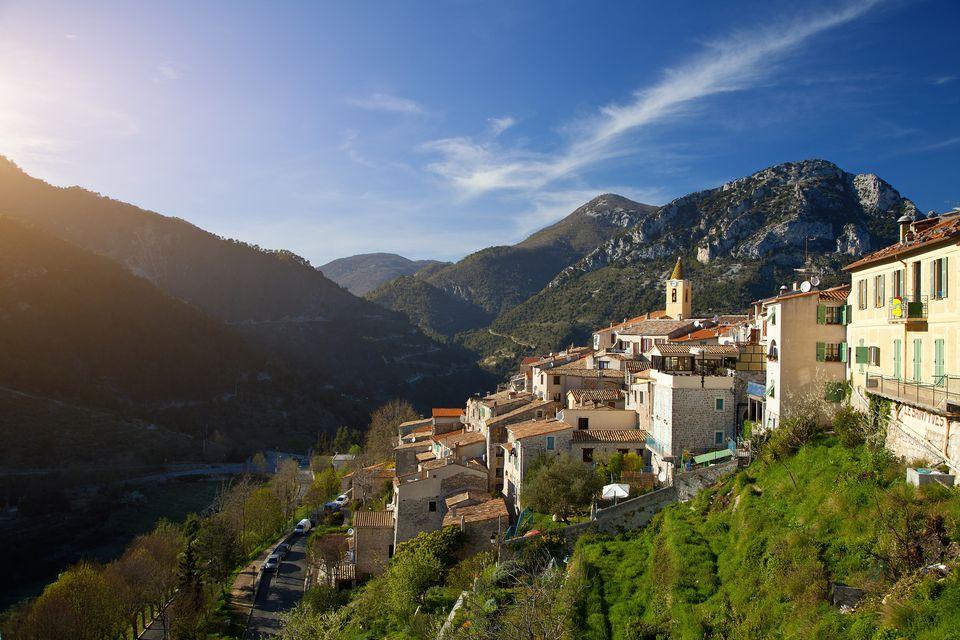 France, Alpes Maritimes, Saint Agnes village