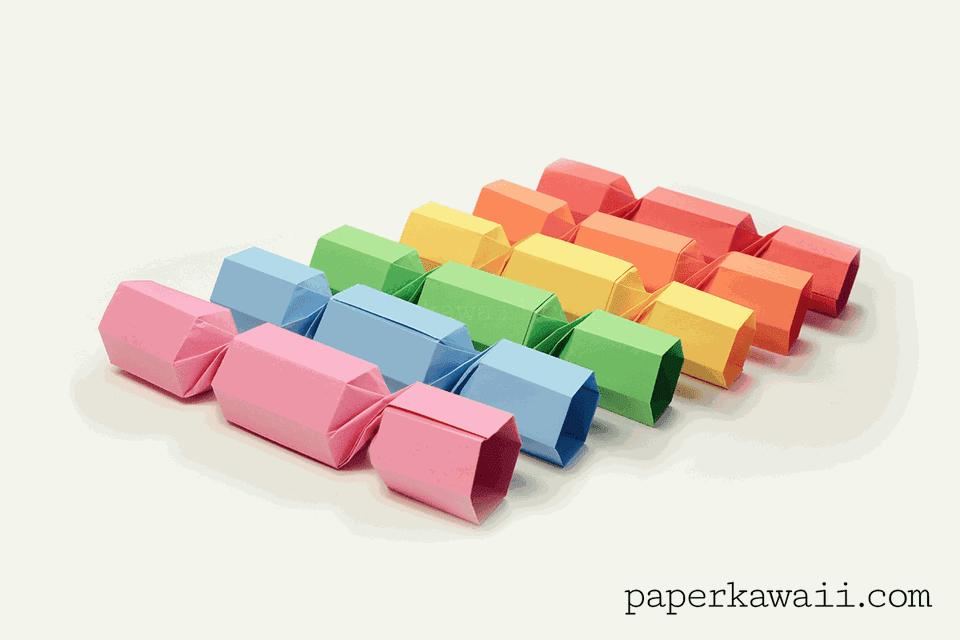 Origami Christmas Cracker